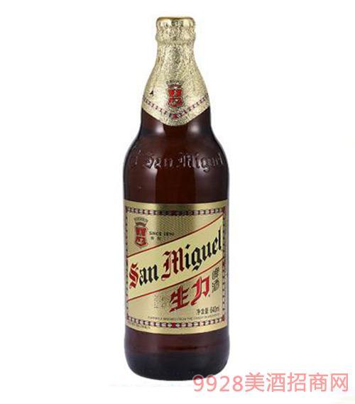生力啤酒640ml