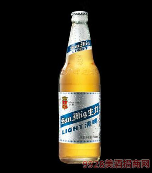 生力啤酒清啤500ml