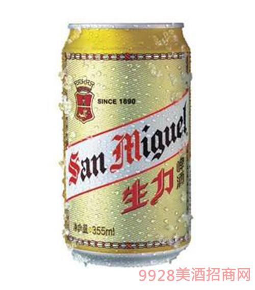 生力啤酒罐装.330ml
