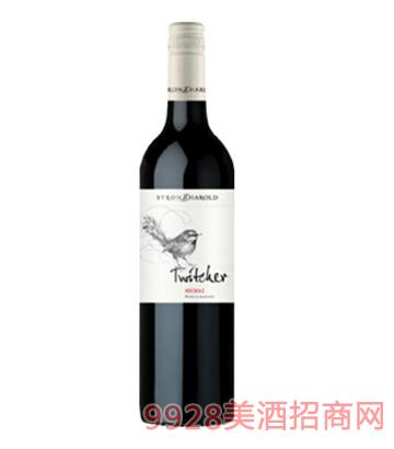 巧妇鸟系列西拉干红葡萄酒14.5度