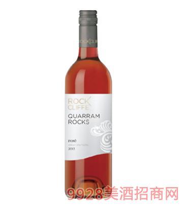 洛克岩系列皮诺玫瑰红葡萄酒12.6度