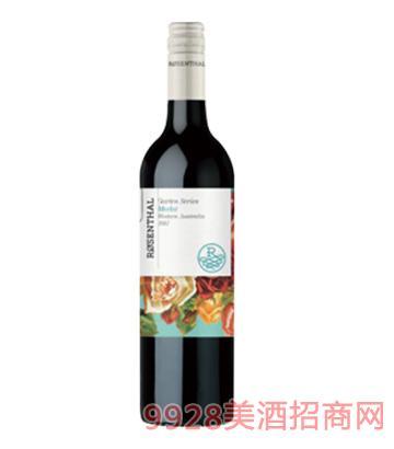 花园系列梅洛干红葡萄酒14度