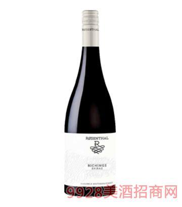 瑞金斯系列西拉干红葡萄酒14.5度