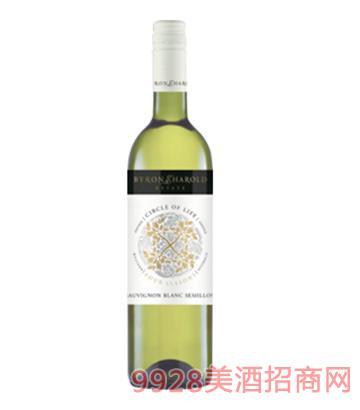 四季轮回系列长相思赛美蓉干白葡萄酒13度