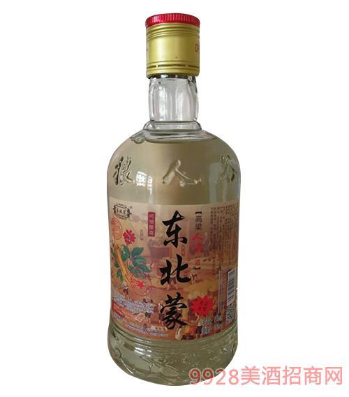 东北蒙纯粮食酒瓶装45度450ml