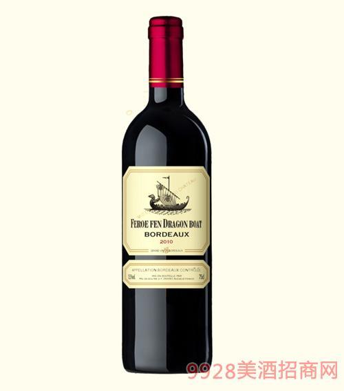 龙船图干红葡萄酒2010-13.5度750ml