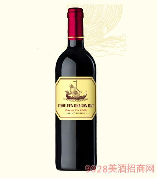 龙船图干红葡萄酒2008