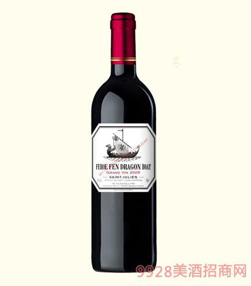龙船图干红葡萄酒2009-13.5度750ml