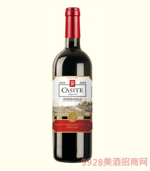 卡斯特传奇干红葡萄酒2010-13度750ml