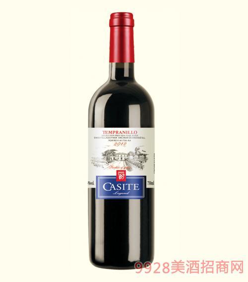 卡斯特传奇干红葡萄酒2012-750ml