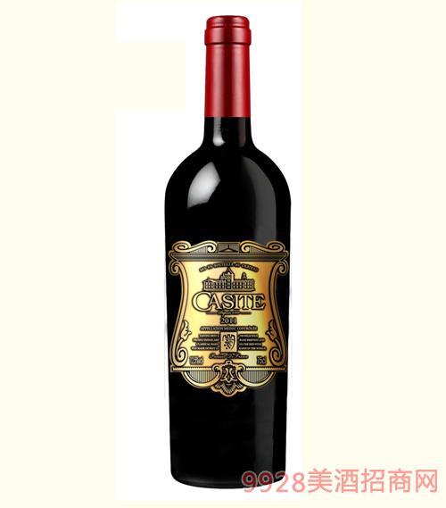 卡斯特西拉干红葡萄酒12.5度750ml