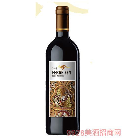 澳芬袋鼠干红葡萄酒