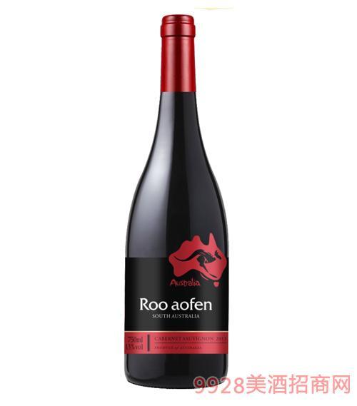 澳芬袋鼠袋鼠王红葡萄酒(红)13度750ml