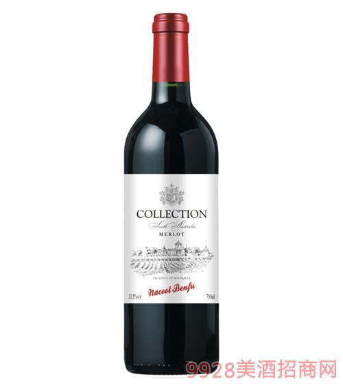 纳谷奔富梅洛干红葡萄酒13.5度750ml