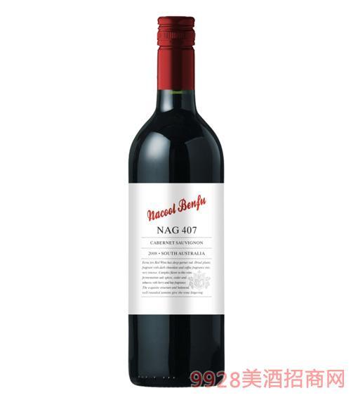 纳谷奔富干红葡萄酒NAG407