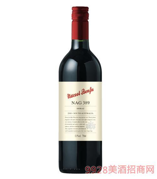 纳谷奔富干红葡萄酒NAG389