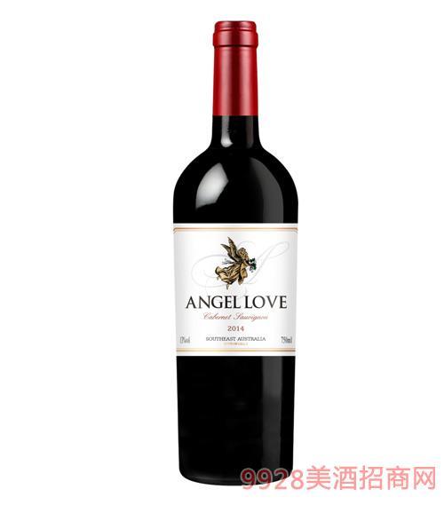 天使之恋赤霞珠干红葡萄酒13度750ml