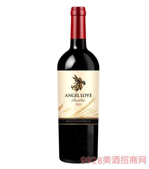 天使之恋黑比诺干红葡萄酒13度750ml