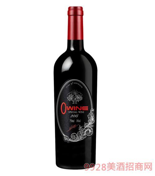 澳维尔葡园干红葡萄酒14度750ml