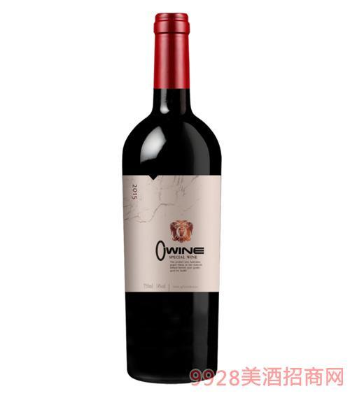 澳维尔天使干红葡萄酒14度750ml