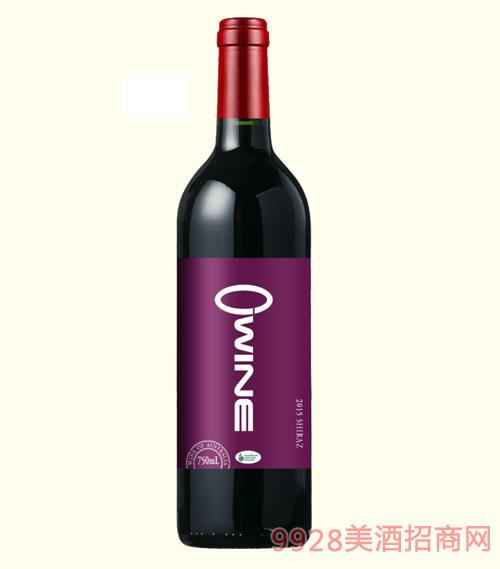 奥威尔艾桑有机葡萄酒13.5度750ml