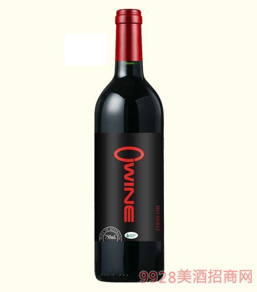 奥威尔西拉有机葡萄酒13.5度750ml