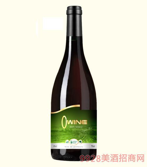 奥威尔洁露有机葡萄酒14度750ml