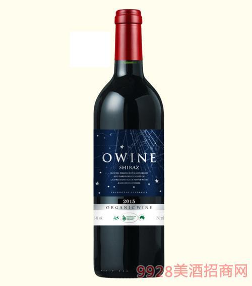 奥威尔西拉有机葡萄酒14度750ml