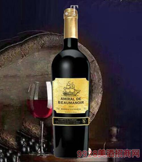 龙船将正牌干红葡萄酒