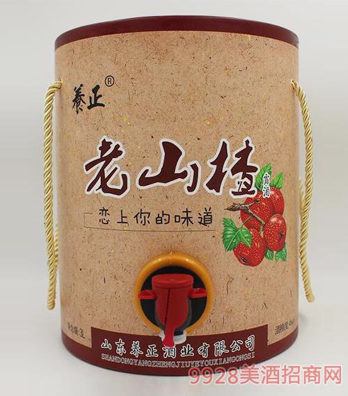 养正老山楂酒4度3L