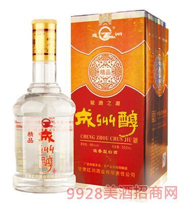 成州醇酒精品46度500ml