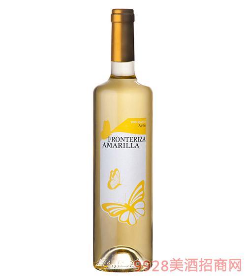黄砖蝴蝶干白葡萄酒750ml
