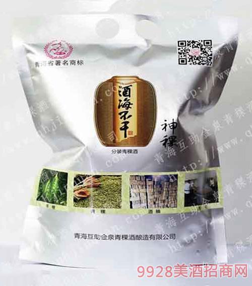 酒海不干青稞酒分装酒(神稞)清香型白酒42度1000ml