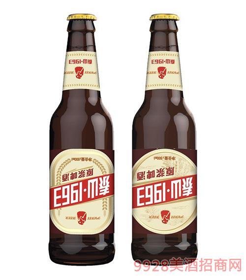 泰山1963原浆啤酒500mlx12瓶装啤酒