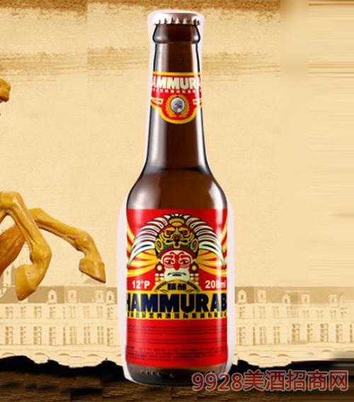 208ml德国汉谟拉比精酿啤酒红标