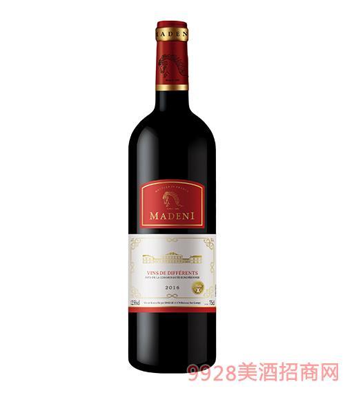 玛德尼干红葡萄酒12.5度750ml