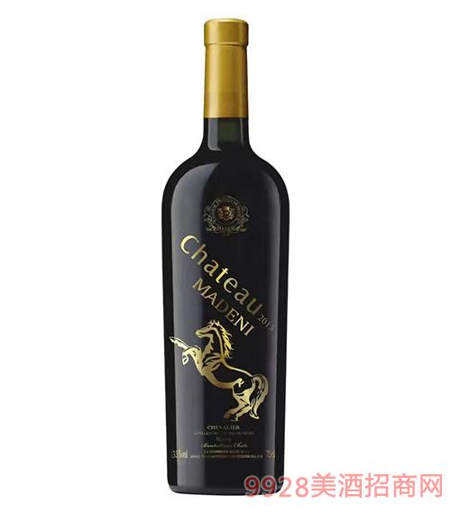 玛德尼骑士干红葡萄酒13.5度750ml