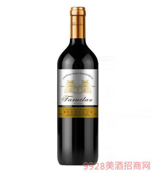 法国波尔多法穆兰城堡干红葡萄酒13度750ml