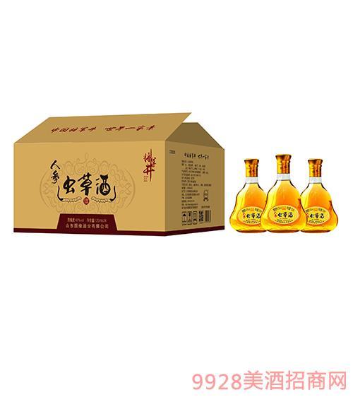 将军井虫草酒42度125ml