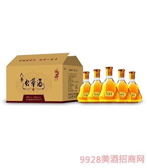 将军井人参虫草酒42度250ml