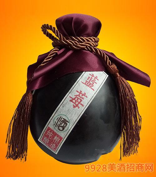 黄氏蓝莓酒(豌豆瓶)