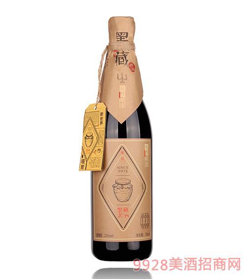 青岛墨藏老酒21度750ml