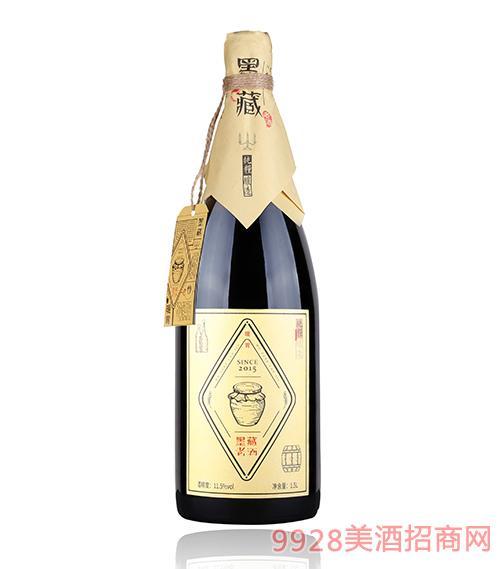 青岛墨藏老酒11.5度1.5L
