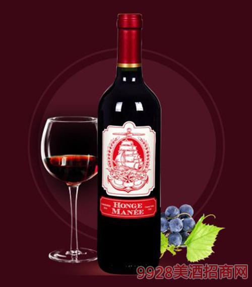 红格蔓尼佳美娜干红葡萄酒750ml