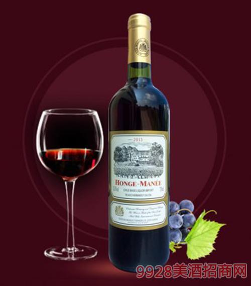 红格蔓尼特酿红葡萄酒750ml