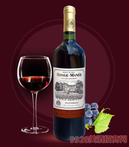 红格蔓尼珍藏红葡萄酒750ml