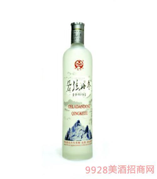 各拉丹冬青稞酒42度750ml
