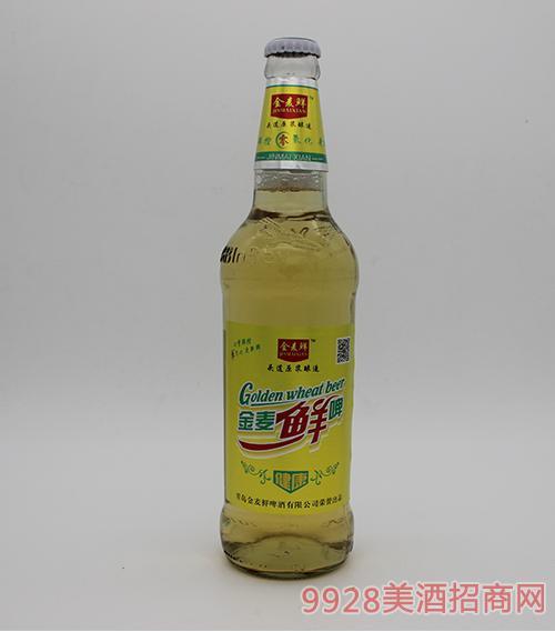 青岛金麦鲜啤酒瓶装