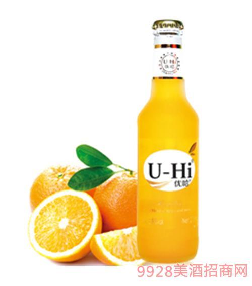 U-Hi优哈起泡酒甜橙味起泡鸡尾酒275ml