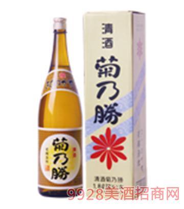 菊乃勝清酒1.8L